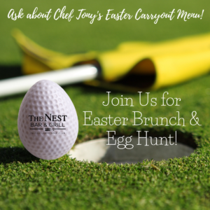 Easter Brunch and Egg Hunt at The Nest